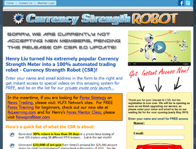 CurrencyStrengthRobot.com (Henry Liu) отзывы