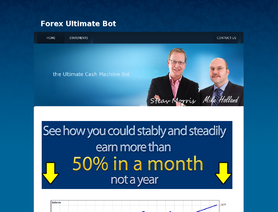 ForexUltimateBot.com (Steve Morris, Mike Holland) отзывы